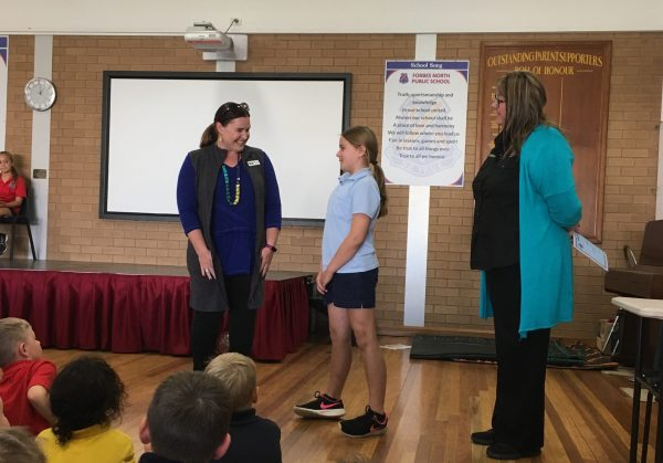 Angela Wilson, one of the many champions of CASNG at a recent school function