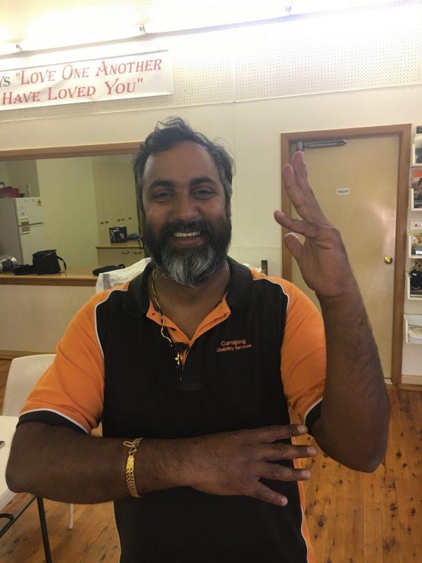 Sanu Maliyil Sunny has passed Auslan Cert II along with Kylee Martin