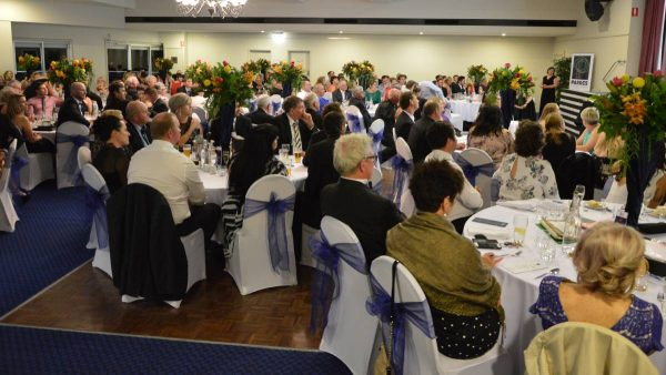 A crowd in excess of 200 people packed the Parkes Services Club for the Henry Awards recently